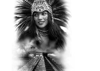 aztecka dziewczyna