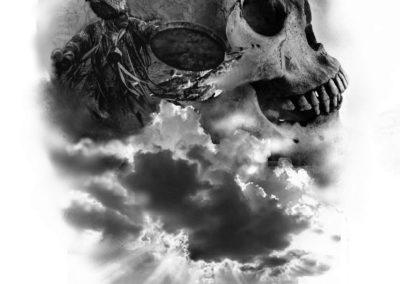 czaszka szaman