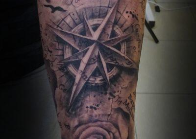Prace Andrzeja Studio Tatuażu Charisma Tattoo